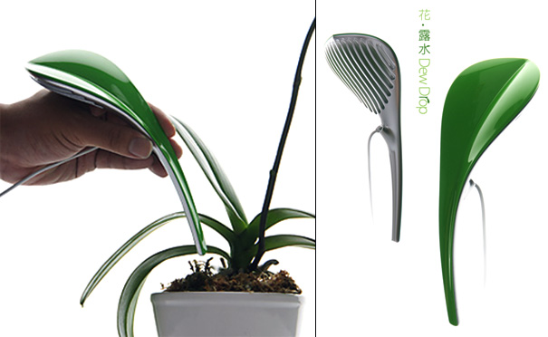 Dew Drop Artificial Water Extractor for Plants by Jacky Wu