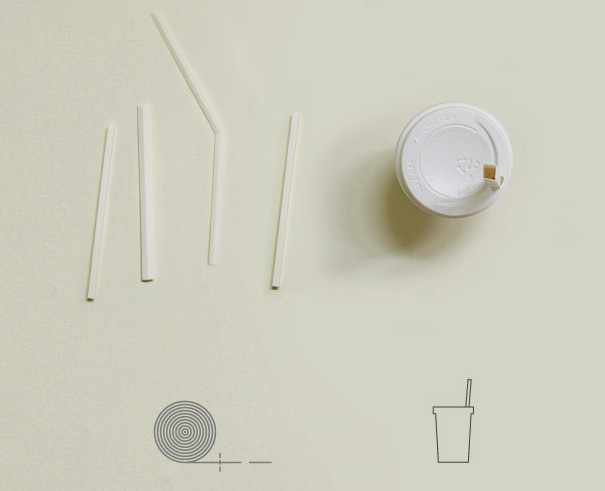 Pluck Out The Straw – Straw Re-package by Deok-geun Han