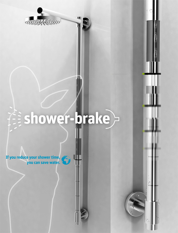 Shower Brake – Conserving Shower Water System by Sang-in Lee & Dae hyun Kim