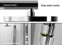 Put A Brake In Your Shower