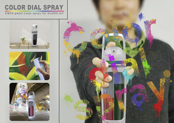 Color Dial Spray by Kim Young-suk, Kim woo-sik, Oh jin-ho, and Lee yong