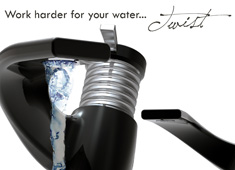 Faucet Makes You Work For Water