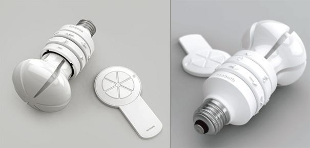EcoBulb Energy Saving Bulb by Seokjae Rhee