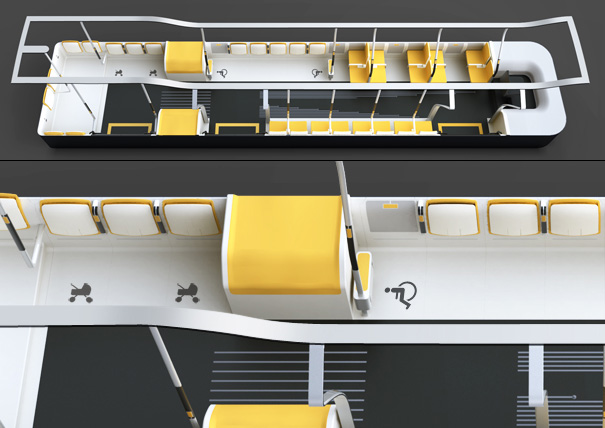 Accessible City Bus aka ACBus by Ceren Bagatar