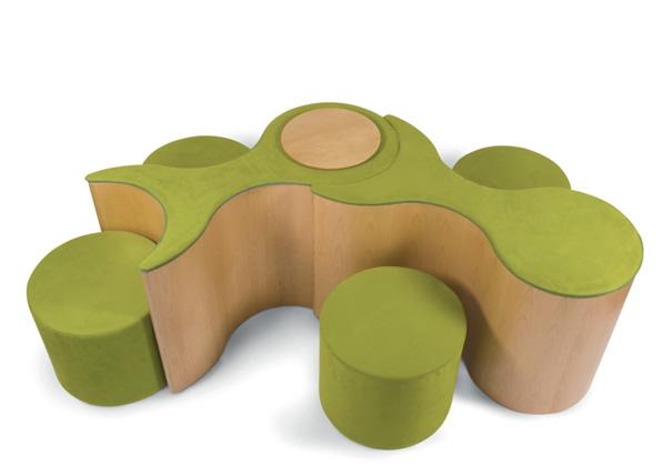 Molecule seat system by Davide Tonizzo