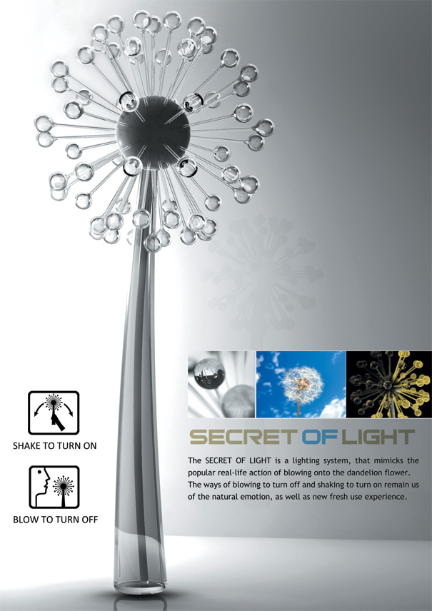 Secret Of Light – Lamp by Qin Xue, Cao iXiaoxiao & Wei Hangshuai