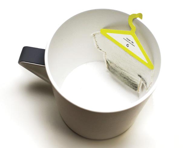 Hanger Tea – Teabags Packaging by Soon Mo Kang