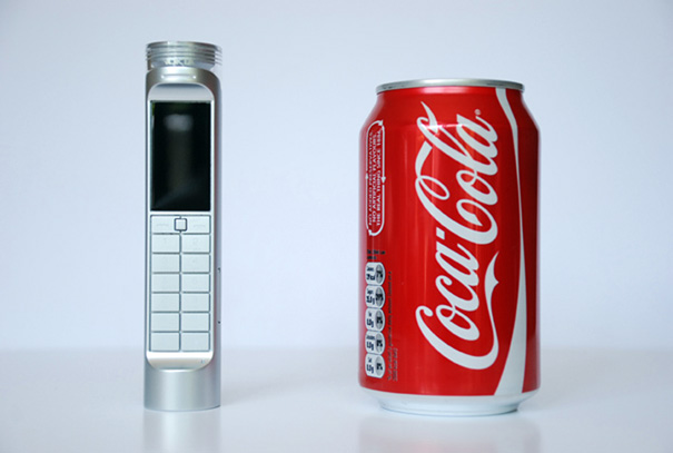 Soft Drink Powered Battery For Mobile Phones by Daizi Zheng