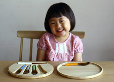 Zen Habit While Dining, But Only For Kids