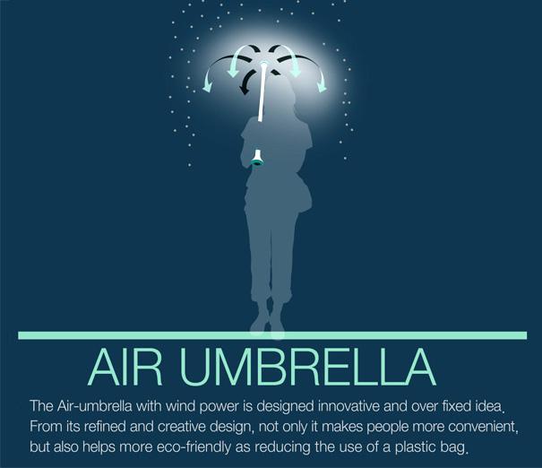Ombrello ad aria