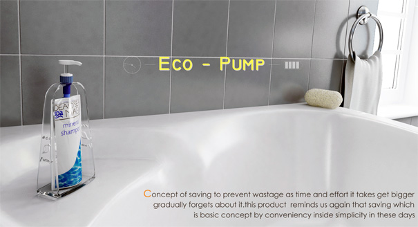 Eco-pump Refill Dispenser Packaging by Bang Ki Ryoul & Junga Kim