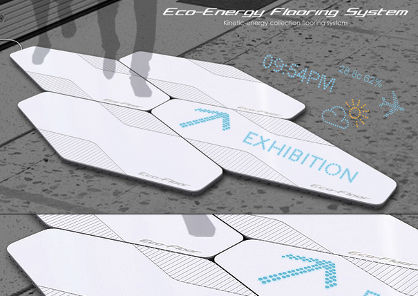 Eco-Enegry Flooring System by Stephen Chan Wing Tak