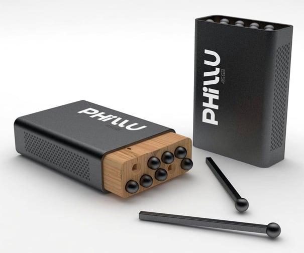 Phillu – Matchbox Shaped Mobile Storage Device by Emir Rifat ISIK