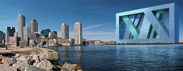 Boa - Boston Arcology Urban Housing by E. Kevin Schopfer, Aia, Riba with Tangram 3DS