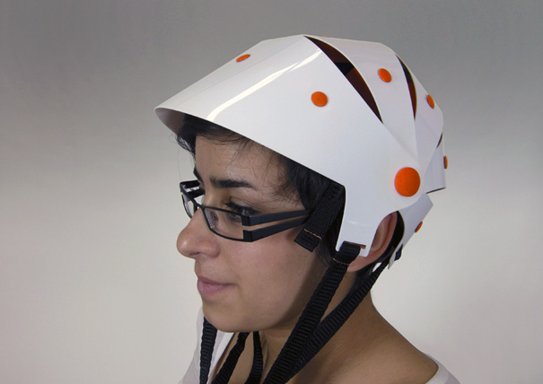Tatoo Bicycle Helmet by Julien Bergignat