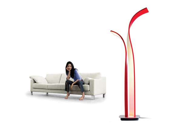 Allure LED lamp by Zhiqiang Liu
