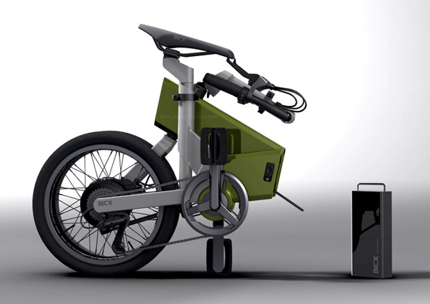 BiCX: Foldable and Re Chargeable Bike