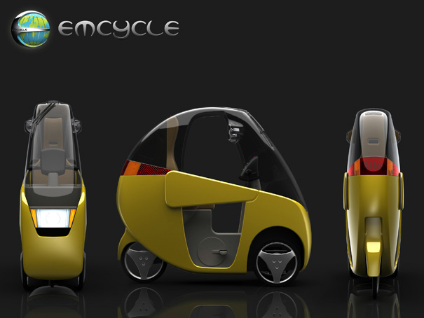 The Emcycle – Pedal Powered & Electric Cycle by Michael Scholey