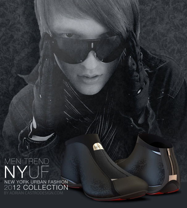 NYUF - New York Urban Fashion Shoe by Adrián Castro