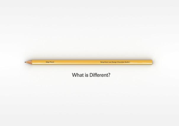 Edge Pencil by Sang-hoon Lee