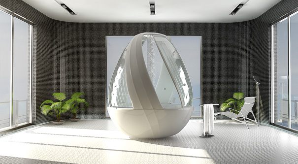 Roca Cocoon Shower Stall by Arina Komarova