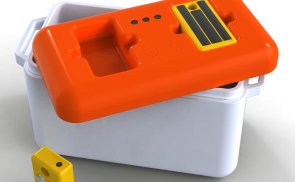 The Portable Eco Freezer by Ruben Iglesias