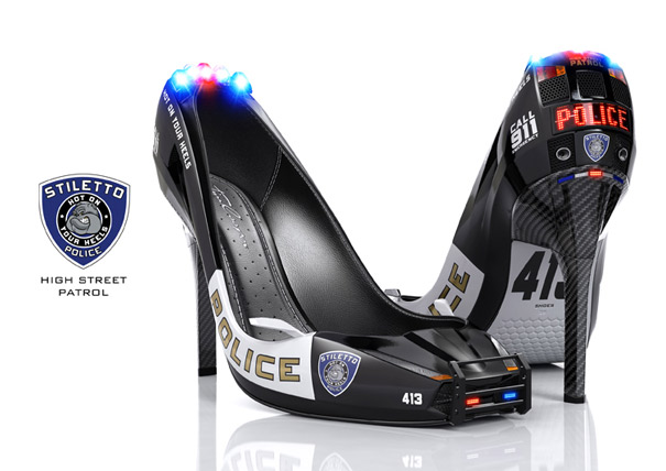 3D Stiletto Police by Tim Cooper