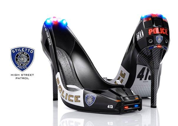 3D Stiletto Police by Tim Cooper