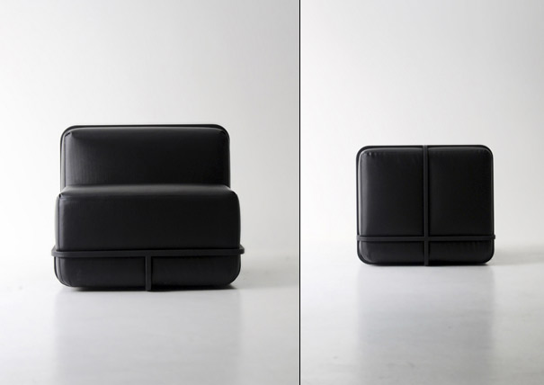 Frame Sofa and Table by Cho hyung suk