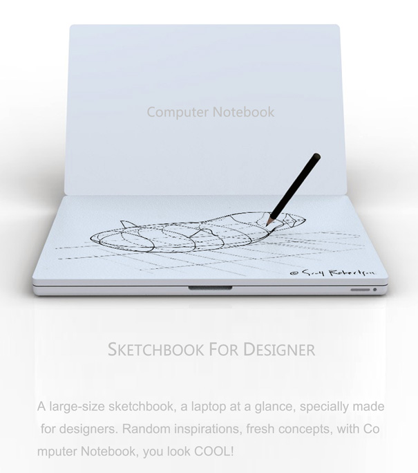 Computer Notebook by Tiancheng Luo