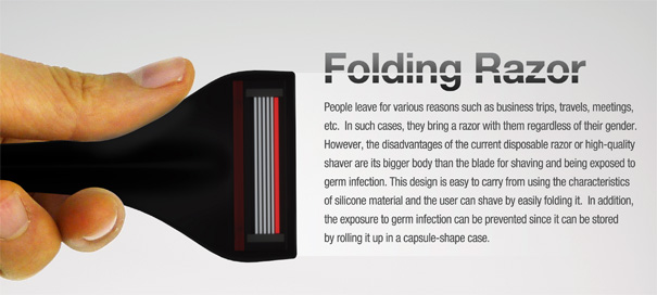 Folding Razor by Hoyoung Lee, Seunghwa Jeong & Youngwoo Park