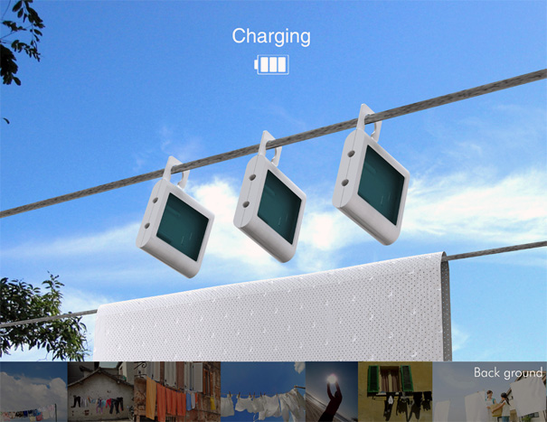 Sunbox Solar Charger by Jinsic Kim