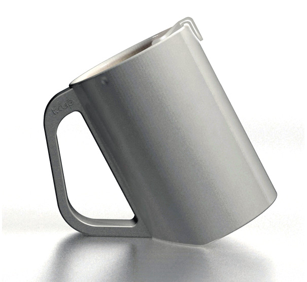 T-cup Tea Mug For Steeping Tea by Jung Dae Hoon