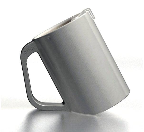 T-cup Tea Mug For Steeping Tea by Jung Dae Hoon