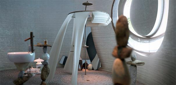 Roca Pearl Bathroom Concept by Rustam Isanchurin