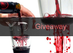 Friday Giveaway: Tweet And Win Three Vino Arielle Wine Aerator
