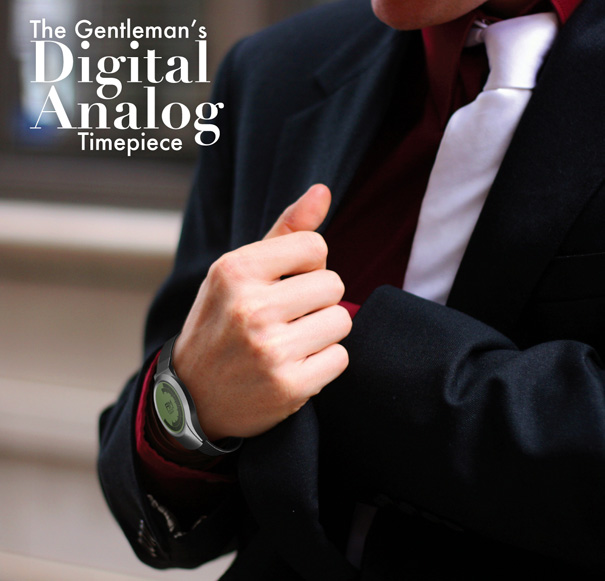 Gentlemen's Digital Analog Watch by Josh Chadwick