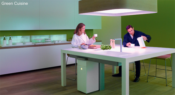 Green Cuisine – Kitchen & Appliances Concept by Philips Design