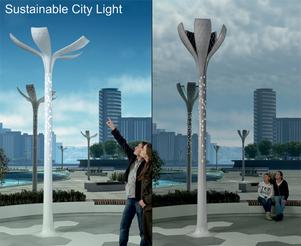 Sustainable City Lights by Philips Design