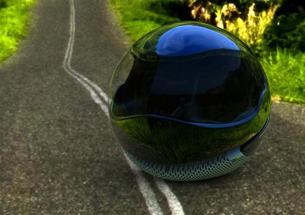 Rollersphere futuristic car by Krasimir Emilov Asenov