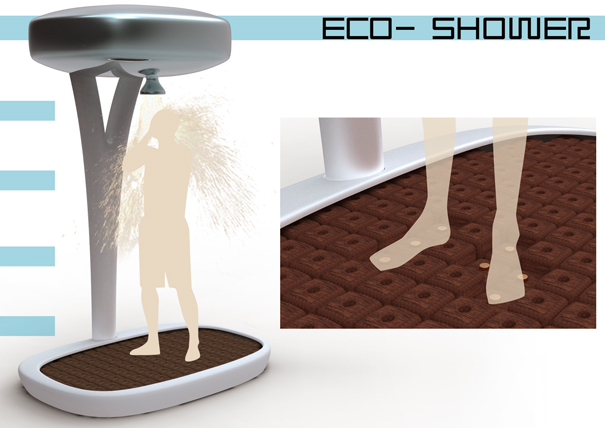 Eco Shower by Paul Frigout