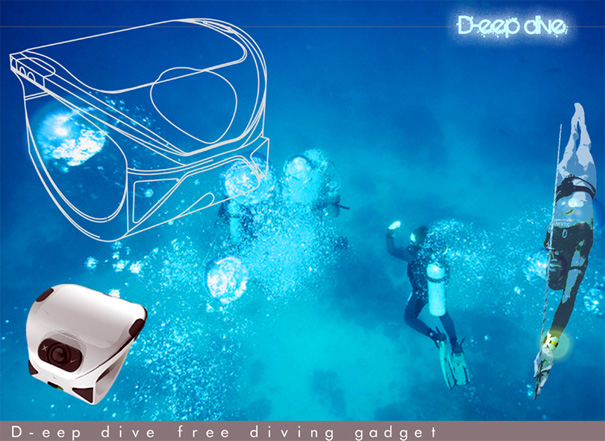 D-eepdive - Safety Gadgets For Diving by Murat Ozveri & Anil Dincer for Design Quadro