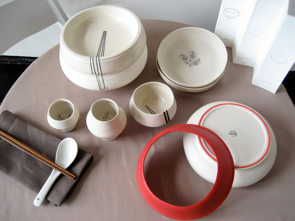 LUNE Dinnerware by Christine Lieu