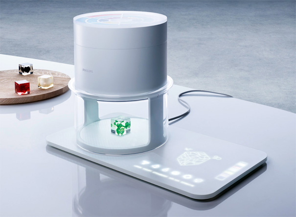 Food Creation Concept Of Molecular Cooking and Printing by Philips Design