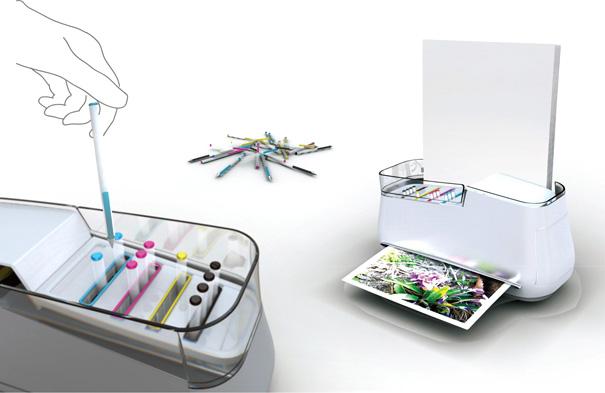 REENK – Printer With Ball Pen Ink by Hyo Sun Ahn & Min Koung So
