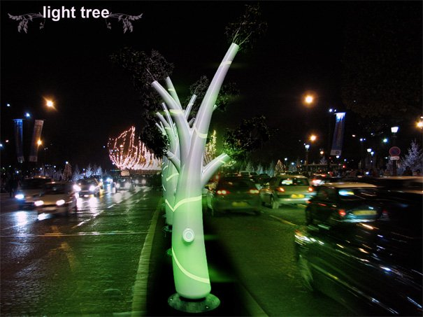Light Tree – Street Lights by Omar Ivan Huerta Cardoso