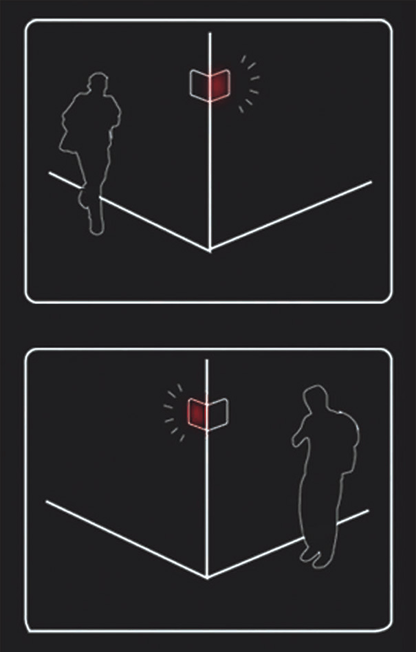 Corner's Communication Warning Sign by Sanghoon Lee
