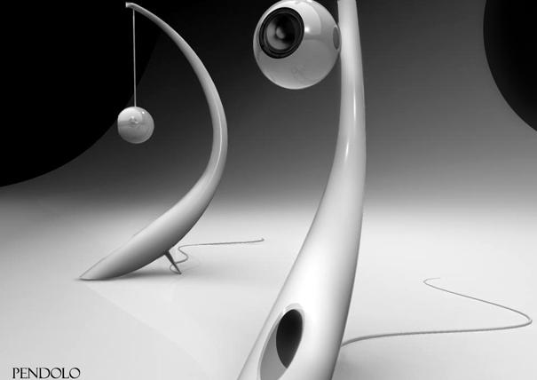Pendolo 2 way loudspeaker system by Omer Sagiv