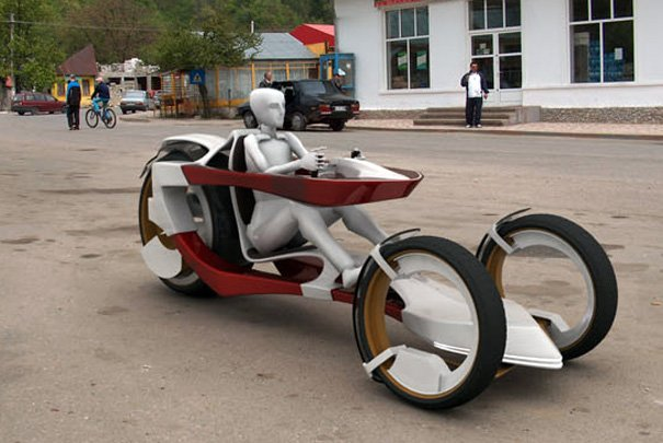 Pandur Concept Vehicle by Popescu Lucian