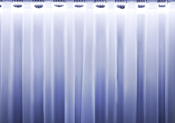 Waterfall light up curtain lights up the night by Barbara Bona